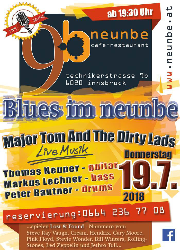 BLUES im Juli
